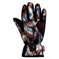 [해외]WIND X-TREME Gloves Rabbit Brown