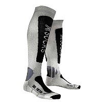 [해외]X-SOCKS Ski Metal Silver / Anthracite