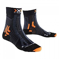 [해외]X-SOCKS Trail Run Energy Black / Anthracite