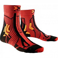 [해외]X-SOCKS Trail Run Energy Paprika / Black