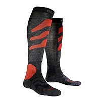 [해외]X-SOCKS Ski Precission Antracite / Red
