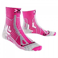 [해외]X-SOCKS Trail Run Energy Pink / Grey Pearl
