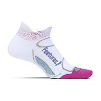 [해외]FEETURES Elite Light Cushion No Show Tab White / Periwinkle