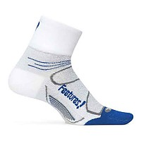 [해외]FEETURES Elite Light Cushion Quarter White / Cobalt