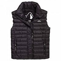 [해외]슈퍼드라이 Fuji Double Zip Vest Black Marl