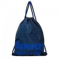 [해외]슈퍼드라이 Drawstring Sports Bag Navy / White