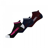 [해외]슈퍼드라이 Sport Socks Triple Pack Port / Black / Navy