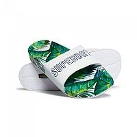 [해외]슈퍼드라이 Tropics Beach Slider Banana Leaf Aop