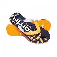 [해외]슈퍼드라이 Scuba Faded Dark Navy / Fluro Orange