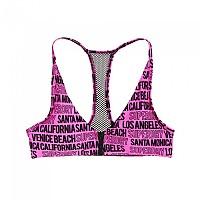 [해외]슈퍼드라이 Cali Logo Crop Top Bikini Neon Pink