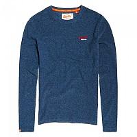 [해외]슈퍼드라이 Orange Label Textured Top Blue Grit Texture Jersey