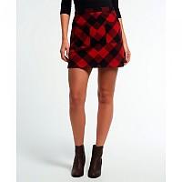 [해외]슈퍼드라이 North Check Mini Skirt Red Gingham
