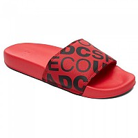 [해외]DC SHOES Slide SE Red / Black
