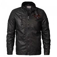 [해외]PETROL INDUSTRIES Jacket PU Black