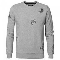 [해외]PETROL INDUSTRIES Sweater R-Neck Light Grey Melee