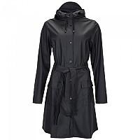 [해외]RAINS Curve Jacket Black