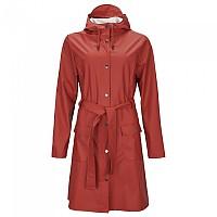 [해외]RAINS Curve Jacket Scarlet