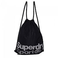 [해외]슈퍼드라이 Drawstring Sports Bag Black / Reflective