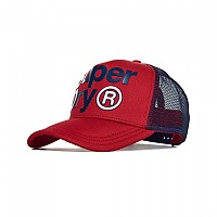 [해외]슈퍼드라이 HB Lineman Trucker Red