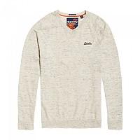 [해외]슈퍼드라이 Orange Label Cotton Vee Alaska Grey Grindle