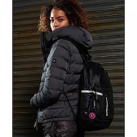 [해외]슈퍼드라이 Fitness Backpack Black