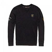 [해외]슈퍼드라이 Garment Dye L.A. Badged Crew Coal