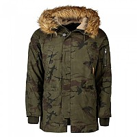 [해외]슈퍼드라이 Rookie Heavy Weather Parka Hurricane Camo
