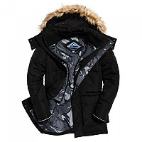 [해외]슈퍼드라이 Expedition Parka Black