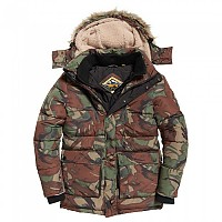 [해외]슈퍼드라이 Expedition Parka Outline Camo