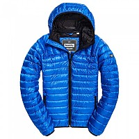 [해외]슈퍼드라이 Core Down Hooded Cobalt
