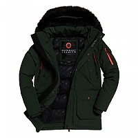 [해외]슈퍼드라이 Premium Ultimate Down Parka Forest Green