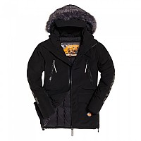 [해외]슈퍼드라이 Mountain Pro Project Down Parka Black