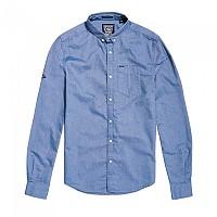 [해외]슈퍼드라이 Ultimate Oxford L/S Shirt Classic Chambray