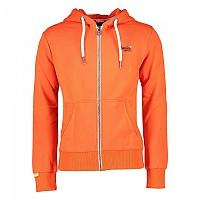 [해외]슈퍼드라이 Orange Label Zip Hood Campfire Orange Grit