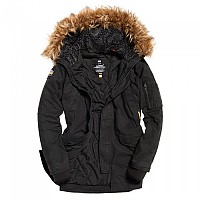[해외]슈퍼드라이 Rookie Heavy Weather Parka Bitter Black