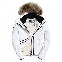 [해외]슈퍼드라이 Hooded Fur Winter Windattacker White