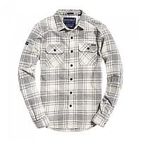 [해외]슈퍼드라이 Milled Flannel L/S Shirt Lavenham Grit Check