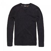 [해외]슈퍼드라이 Garment Dyed L.A. Crew Worn Black