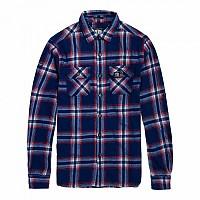 [해외]슈퍼드라이 Lumberjack L/S Shirt Cadmium Blue Check
