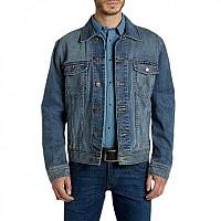 [해외]WRANGLER Western Jacket Mid Stone Denim
