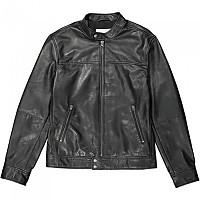 [해외]WRANGLER Leather Biker Black