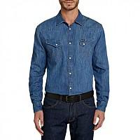 [해외]WRANGLER L/s Western Shirt Indigo