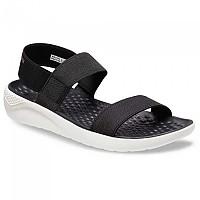 [해외]크록스 LiteRide Sandal Black / White