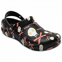 [해외]크록스 Bistro Graphic Clog Black / White