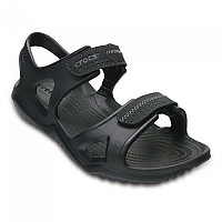 [해외]크록스 Swiftwater River Sandal Black / Black