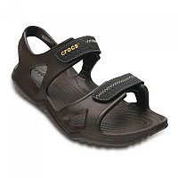 [해외]크록스 Swiftwater River Sandal Espresso / Black