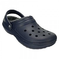 [해외]크록스 Classic Lined Clog Navy / Charcoal