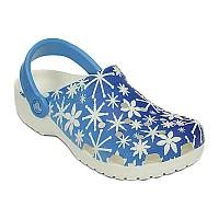[해외]크록스 Classic Snowflake Clog Bluebell