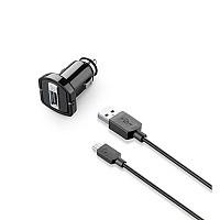 [해외]INTERPHONE CELLULARLINE USB Cigarette Lighter with Cable USB Micro
