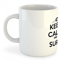 [해외]KRUSKIS Mug Keep Calm and Surf White